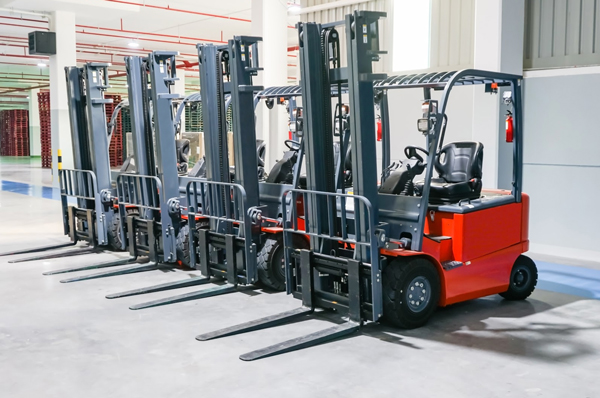 Counterbalance forklift equipment for sale